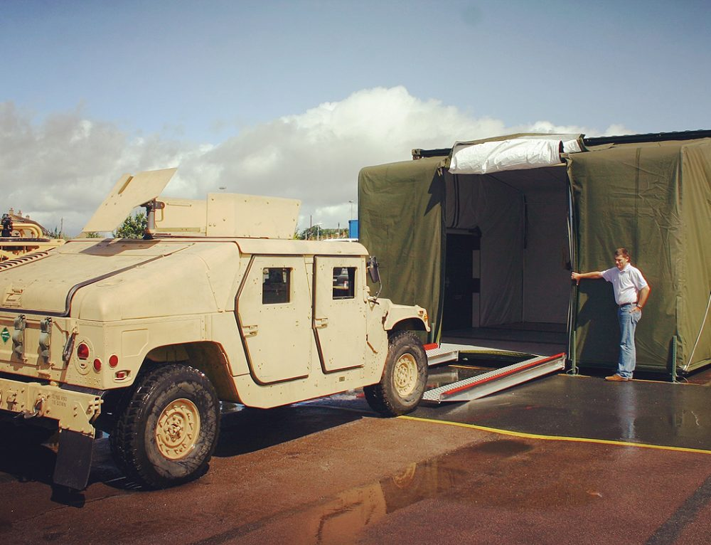 EHMECC Specialist Mobile Vehicle Workshop