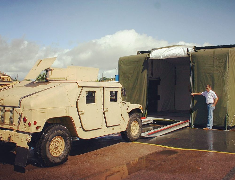 EHMECC Specialist Mobile Vehicle Workshop