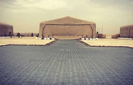 Inflatable Military Aircraft Hangar