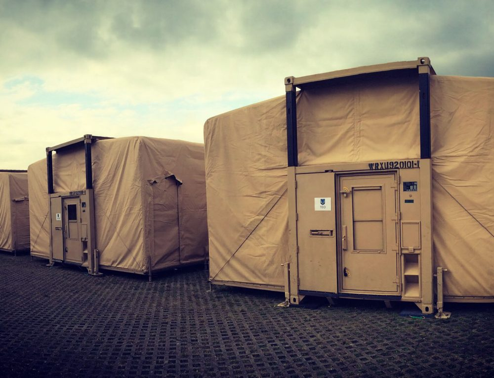 Military Command Post EHMECC Expandable Shelter