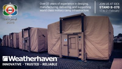 Weatherhaven at IDEX 2019